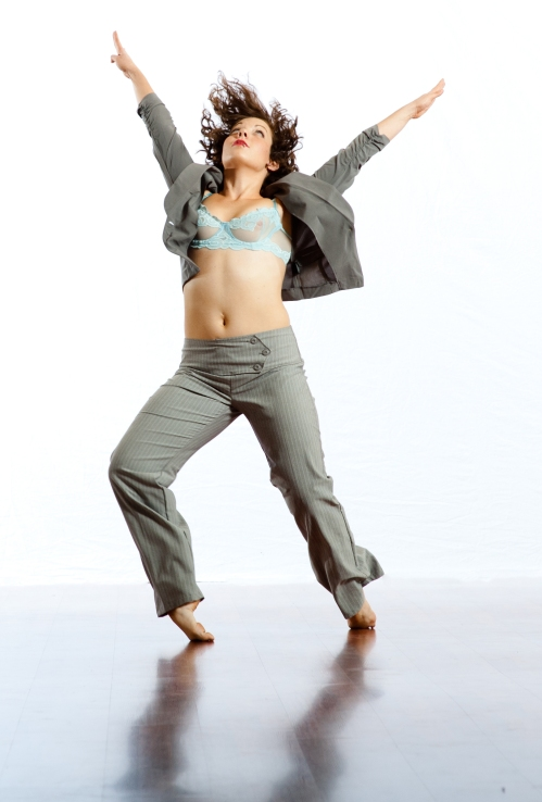 "Murphy/Smith Dance Collective's Jamie Erin Murphy in ""I am Woman"". Photo by Bill Shirley."