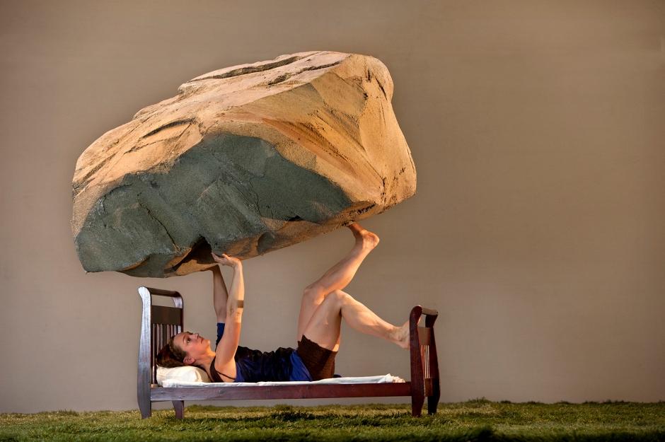Ashley Williams in Attack Theatre's Soap Opera. Photo by  Martha Rial.