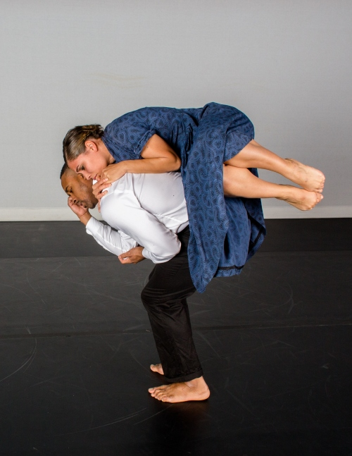 August Wilson Center Dance Ensemble's Naila Ansari and Christopher Nolan. Photo by Renee Rosensteel.