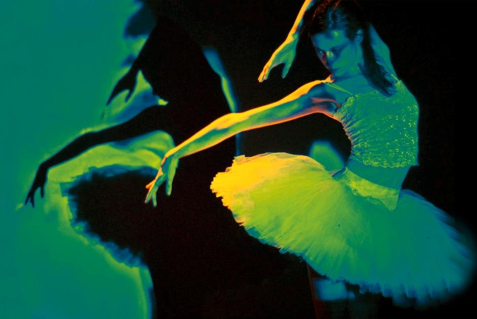 "Dancer Lydia Rakov in ""The Green Swan"".  Photo by Cassie K. Rusnak."