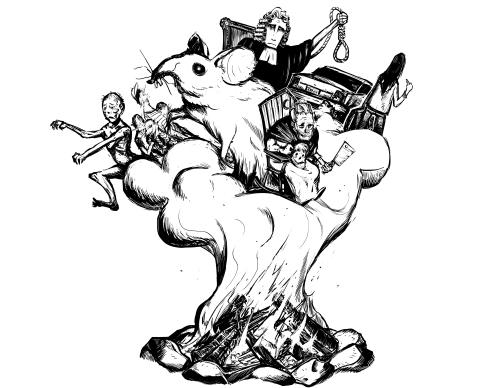 Illustration by Alex Mitchell