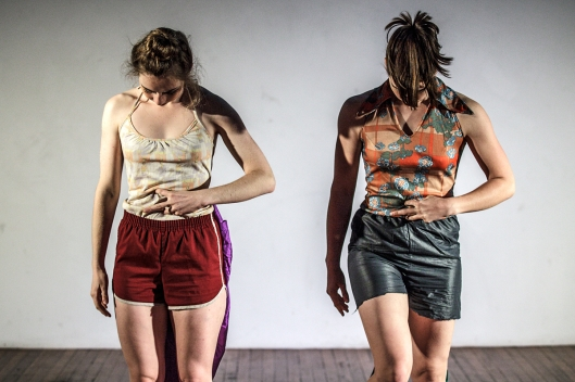 "Katie Rose McLaughlin's ""Fun Molly""  highlights Program B of  the newMoves Contemporary Dance Festival. Photo by Matia Baranova."