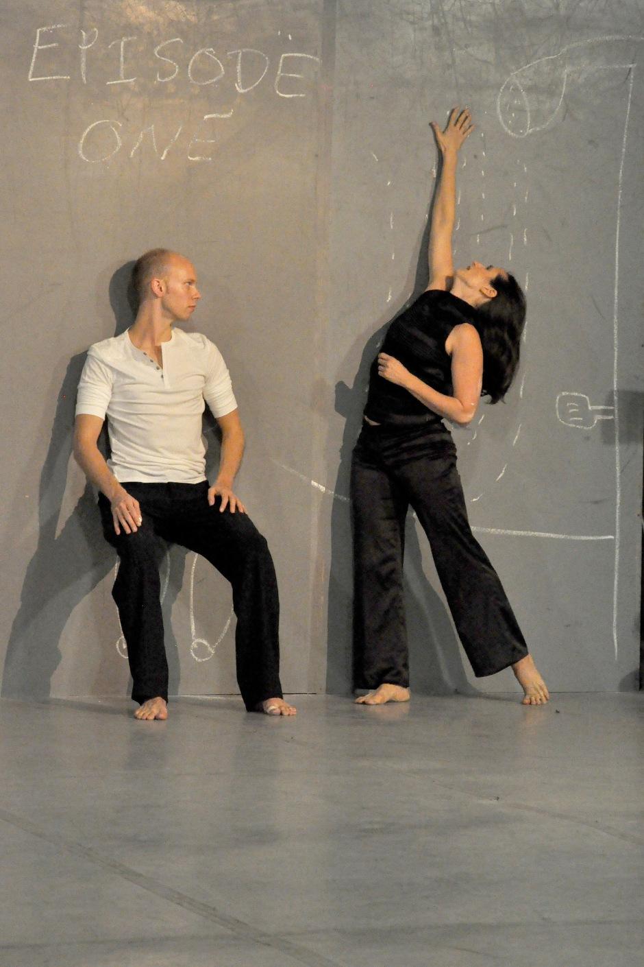 Attack Theatre's Michele de la Reza and Dane Toney. Photo by Brian Cohen.