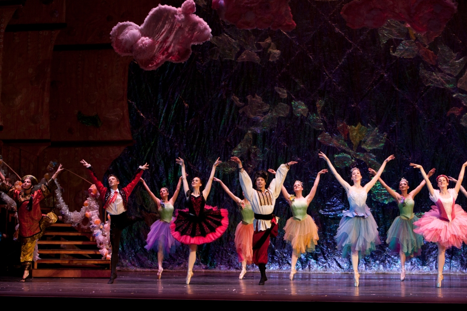 """Dancers in Neglia Ballet Artists' """"The Nutcracker"""".  Photo courtesy of Neglia Ballet Artists."""
