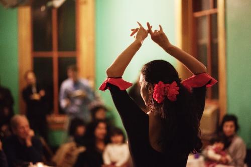 Alba Flamenca featuring Carolina Loyola-Garcia. Photo by Colter Harper.