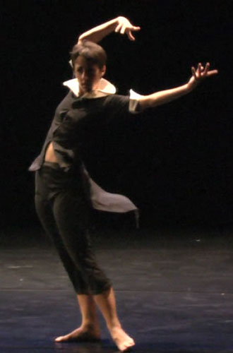 "Melanie Aceto in ""Dancer Mad""."