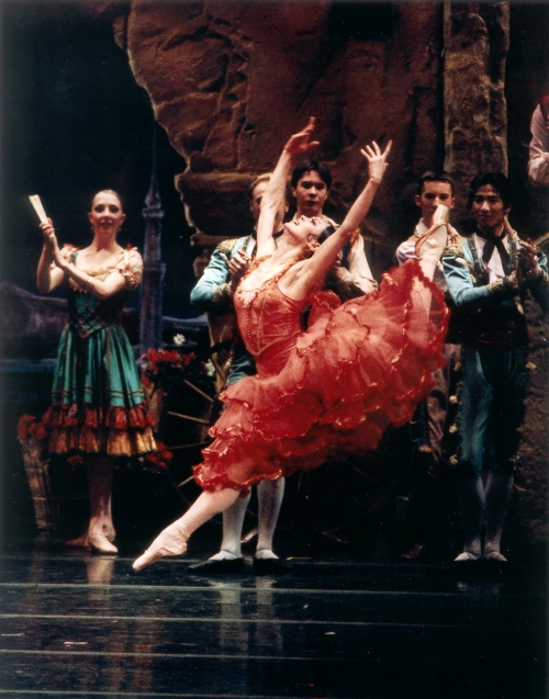 Former principal dancer Ying Li in PBT's Don Quixote. Photo by Rich Sofranko.