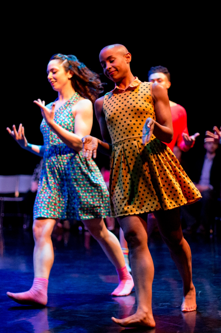 """The Staycee Pearl Dance Project performs """"Playground"""". Photo by Mark Simpson."""