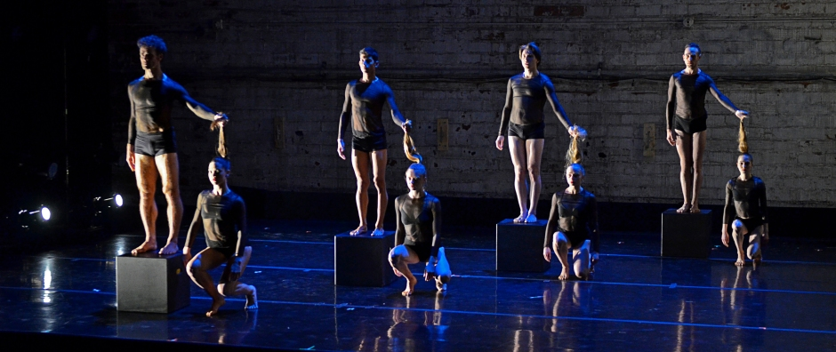 """Verb Ballets in Sara Whale's """"Muse"""". Photo by Rob Erick."""