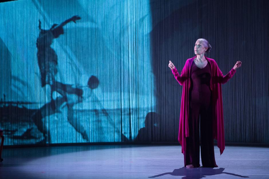 "Carmen De Lavallade in ""As I Remember It"". Photo by Christopher Duggan."