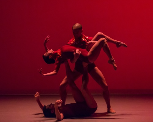 "Nicolo Fonte's ""The Heart(s)pace"".   Photo by Sharen Bradford."