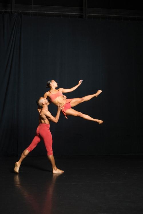 LehrerDance dancers Immanuel Naylor and Rachel Humphrey. Photo by Rhea Anna