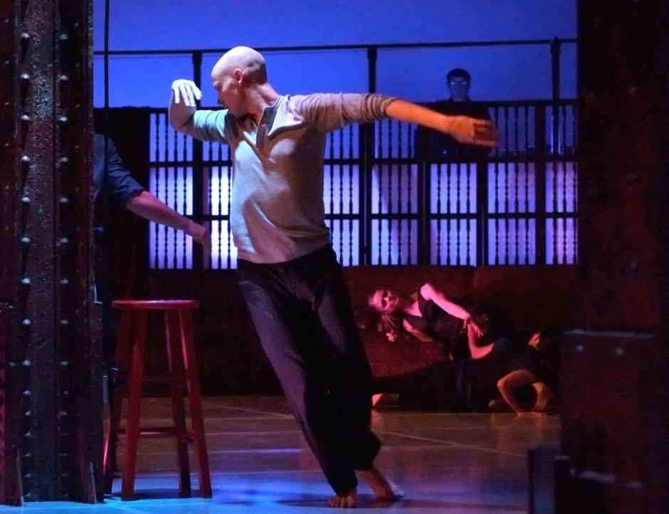 Attack Theatre Company Dancer Dane Toney. Photo by Brian Cohen