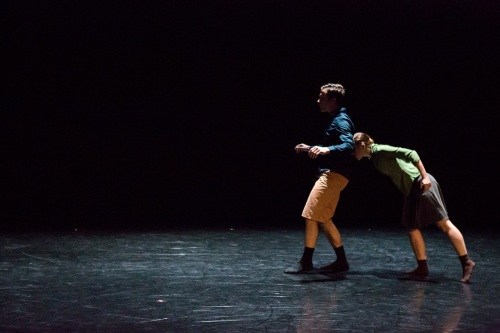 "BalletMet dancers Karen Wing and Gabriel Gaffney Smith in Gustavo Ramirez Sansano's ""Lovely Together"". Photo by Jennifer Zmuda."