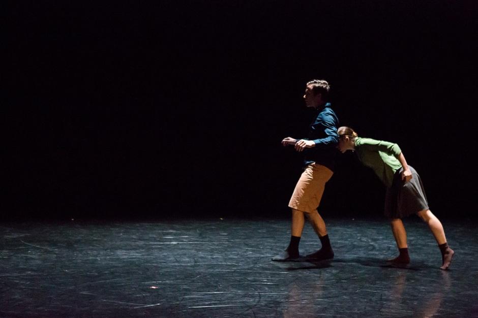 "BalletMet dancers Karen Wing and Gabriel Gaffney Smith in Gustavo Ramirez Sansano's ""Lovely Together"". Photo by Jennifer Zmuda."