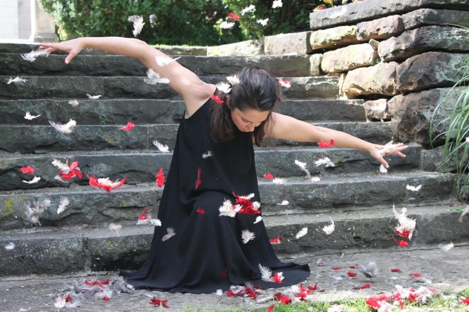 Jessica Marino of Shana Simmons Dance. Photo by Shana Simmons.