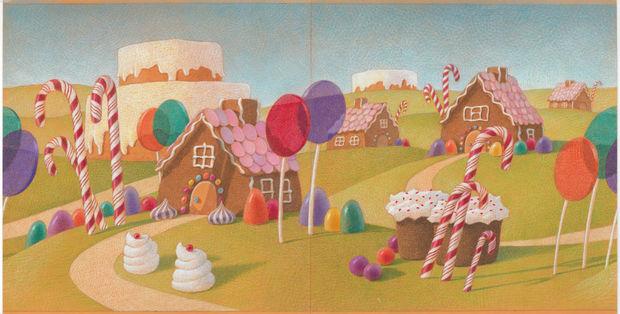 """Illustration by Chris Van Allsburg for Grand Rapids Ballet's """"The Nutcracker."""""""