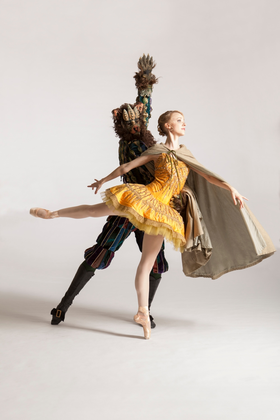 """PBT dancers Amanda Cochrane and Robert Moore in Lew Christensen's """"Beauty and the Beast."""" Photo by Duane Rieder."""