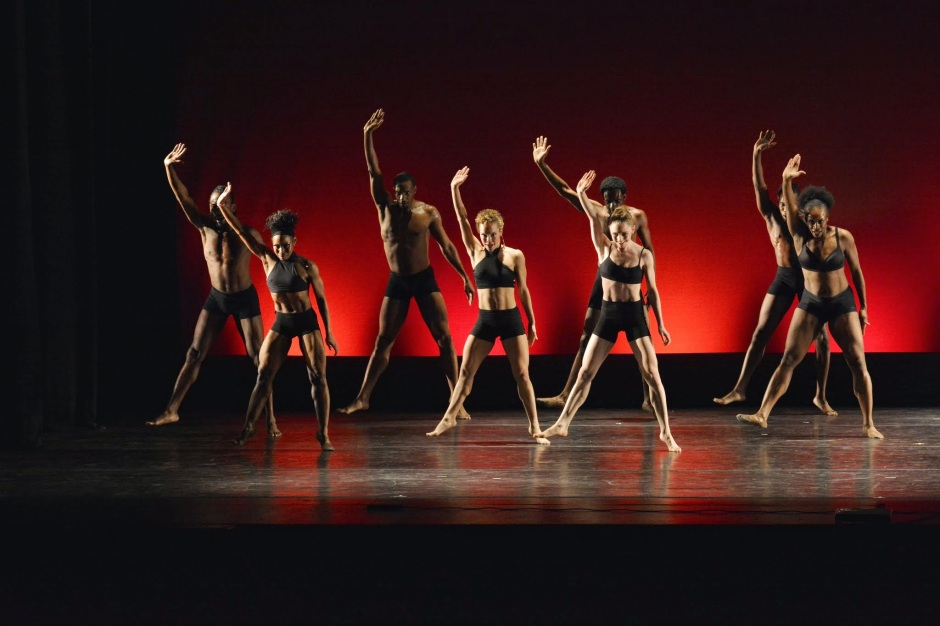 """Dayton Contemporary Dance Company in Kiesha Lalama's """"Shed"""". Saturday night at Playhouse Square as part of the """"Founders Showcase"""" of the International Association of Blacks in Dance conference. Photo by Mark Horning & Co."""
