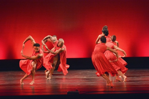 "Dallas Black Dance Theatre in Garfield Lemonius' ""Memoirs"".  Photo by Mark Horning & Co."
