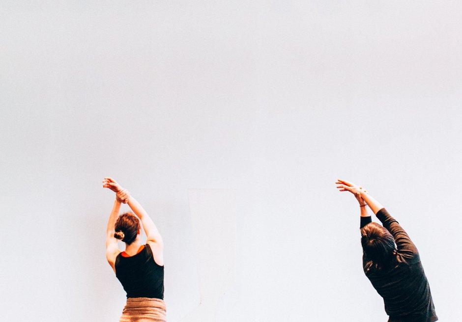 "Dancers in Ben Sota and Jil Stifel's ""WaywardLand."" Photo by Nicole Jarock."