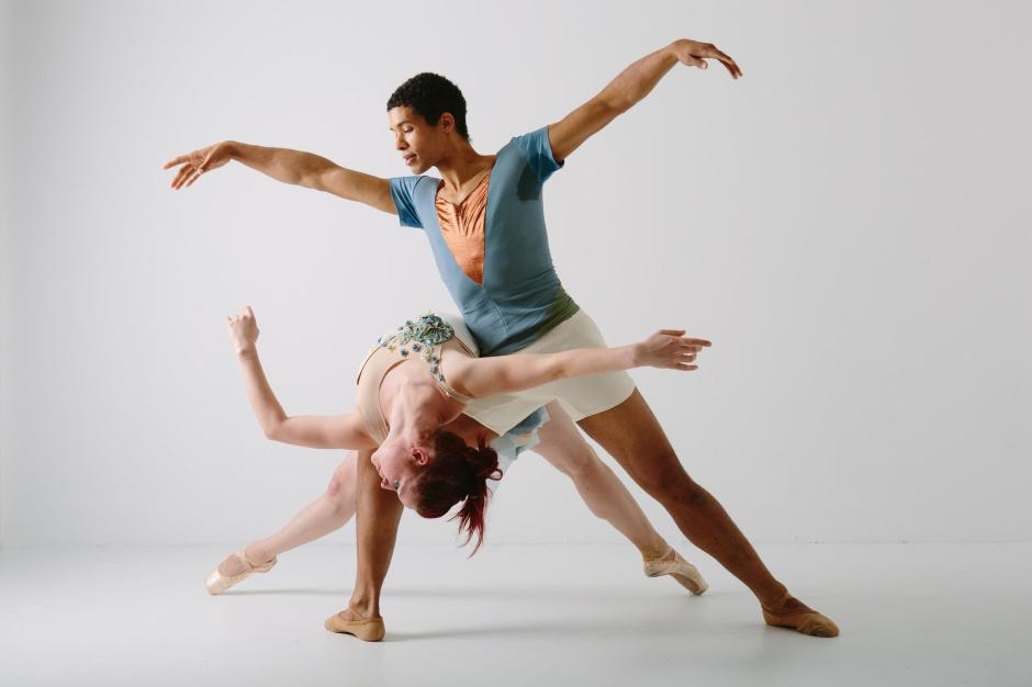 Texture's Kelsey Bartman and Alan Obuzor. Photo by Katie Ging.