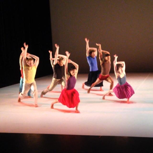 "Grand Rapids Ballet dancers in Sagi Gross' ""One Charming Night."""