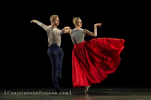 Wendy Whelan and Joshua Beamish in Beamish's