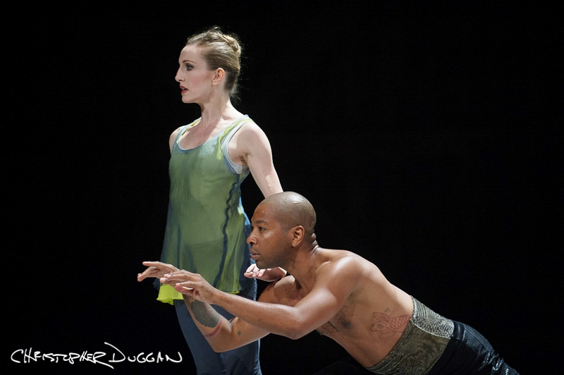 Wendy Whelan and Kyle Abraham in Abraham's