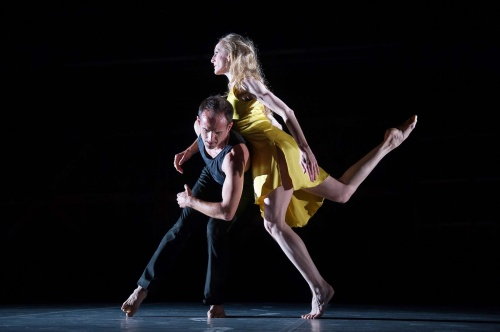 Wendy Whelan and Brian Brooks in Brooks'