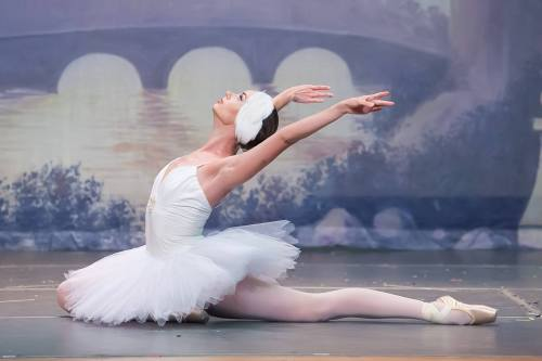Janet Strukely-Dziak as Odette in Olmsted Performing Arts'