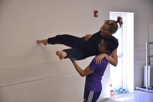 Lauren Garson and Michael Marquez in David Shimotakahara's