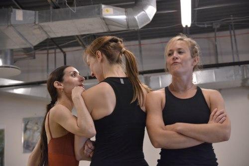 Felise Bagley, Annika Sheaff and Lauren Garson in David Shimotakahara's