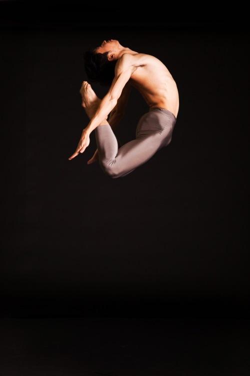 Pittsburgh Ballet Theatre's Yoshiaki Nakano - Photo by Duane Rieder.