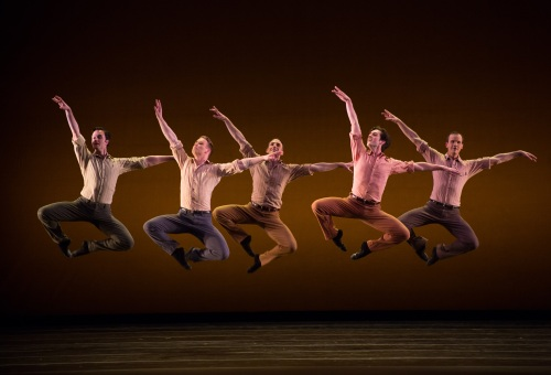 BalletMet dancers in David Nixon's