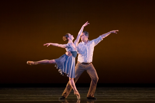 BalletMet dancers Emily Gotschall and Jimmy Orrante in David Nixon's