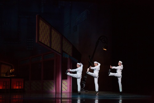 BalletMet dancers in Jerome Robbins'