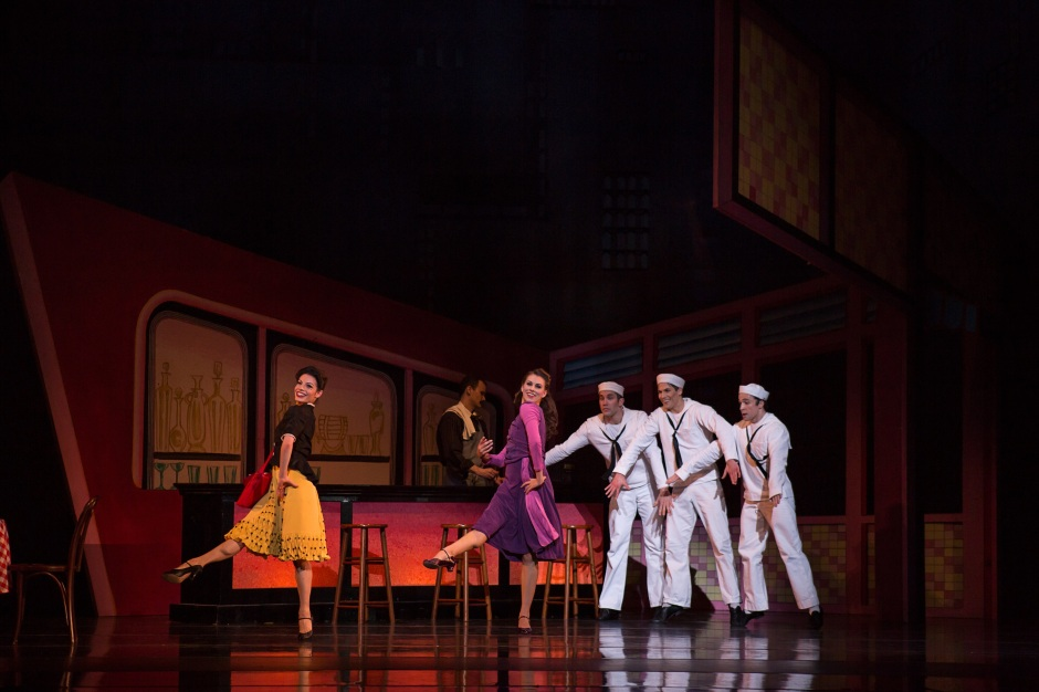 BalletMet dancers in Jerome Robbins'