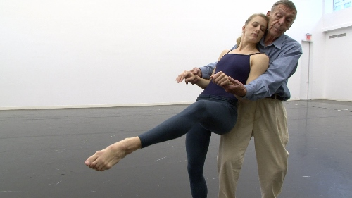 Dancer Amy Young and Paul Taylor in a scene from Paul Taylor: Creative Domain.