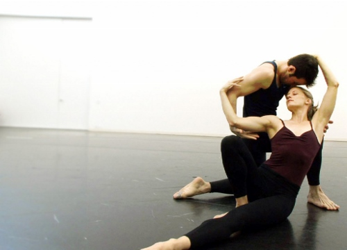 Dancers Robert Kleinendorst and Amy Young in a scene from