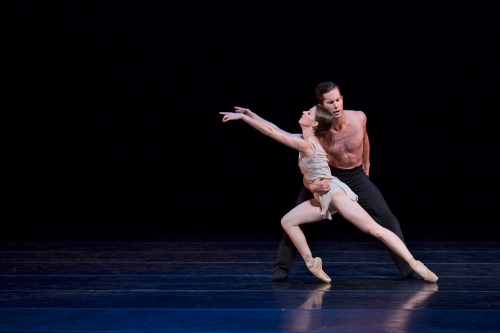 BalletMet's Caitlin Valentine-Ellis and Gabriel Gaffney Smith in Edwaard Liang's