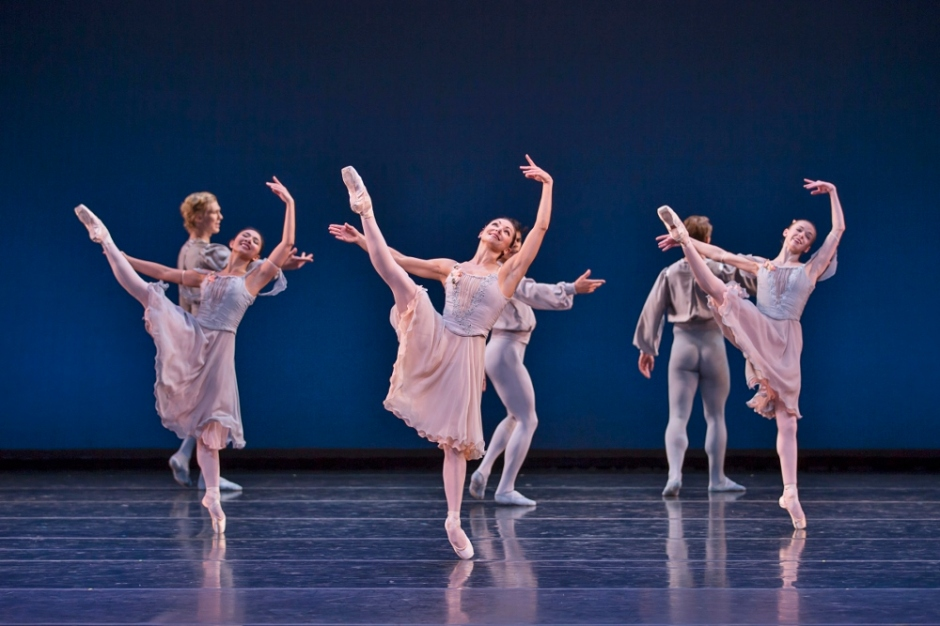 BalletMet dancers in George Balanchine's
