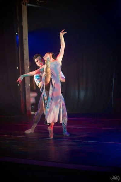 """(L-R) Francisco Aguilar and Izabelly Possatto in Robert Wesner's """"Count …The Legend of Dracula ."""""""
