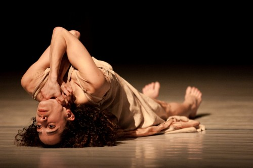 Vertigo Dance Company dancer in Noa Wertheim's 'Reshimo.' Photo by Maayan Hotam.