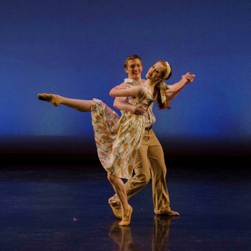 Steven Houser and Gretchen Steimle in James Sofranko's The Sweet By and By. Photo by Scott & Kate Rasmussen 500px